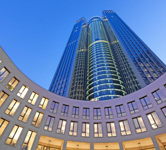 Tower 185, Christoph Mäckler Architekten, Day & Light Lichtplanung, Photo: Markus Diekow / CA Immo